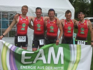 David, Martin, Thomas , Tim und Florian